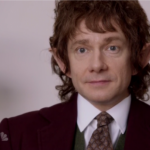 Worlds collide when SNL visits 'A Hobbit Office'