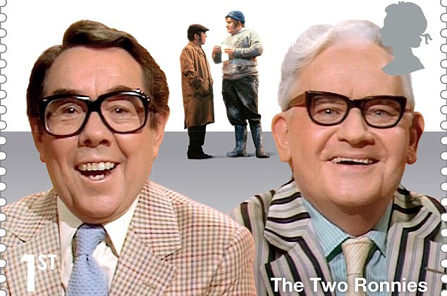 Royal Mail to commemorate The Two Ronnies with new post stamp