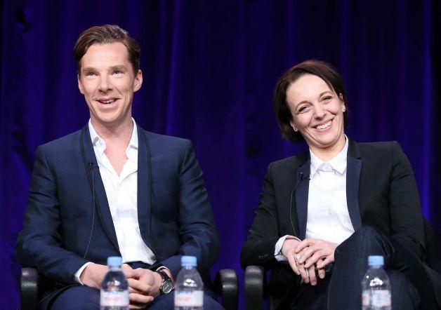 Benedict Cumberbatch and Amanda Abbington at the Winter Television Critics Association Press Tour