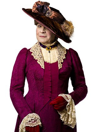 For David Suchet, it's goodbye to Hercule Poirot and hello to Lady Bracknell