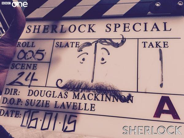 Sherlock 4 begins filming