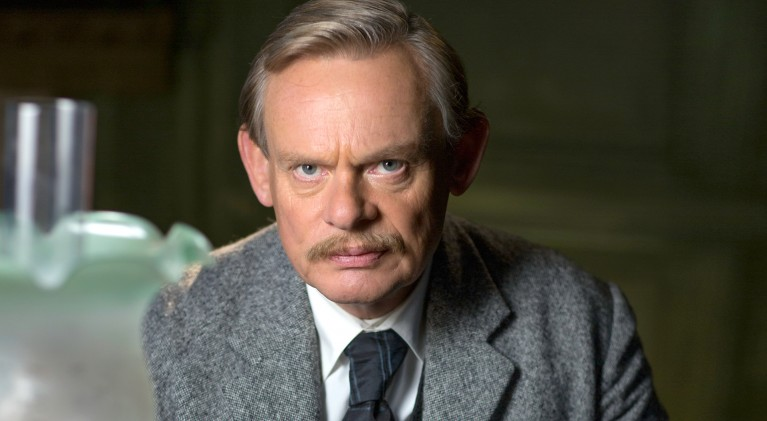 First look at Martin Clunes as Sir Arthur Conan Doyle in 'Arthur and George'