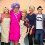It's Dame Edna v. AbFab v. Lulu in #GBBO Smackdown for 'Comic Relief'