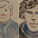 Sherlock's Mrs. Hudson picks up a brush for the BBC's Big Painting Challenge
