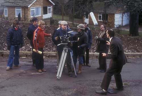 Filming Fawlty Towers on the streets of London