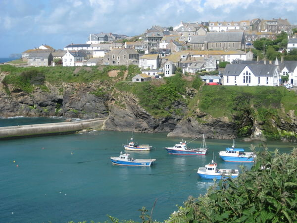 Port Isaac, the Portwenn home of Doc Martin