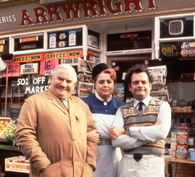 Ronnie Barker and David Jason star in Open All Hours