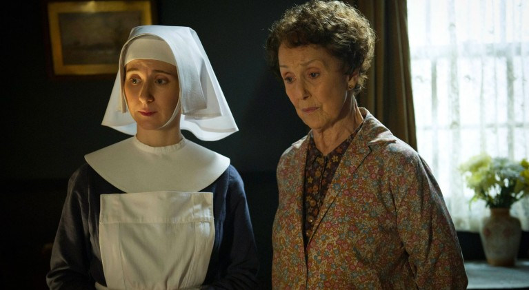Una Stubbs guest stars on Call the Midwife