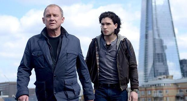 Peter Firth and Kit Harington in Spooks - The Greater Good