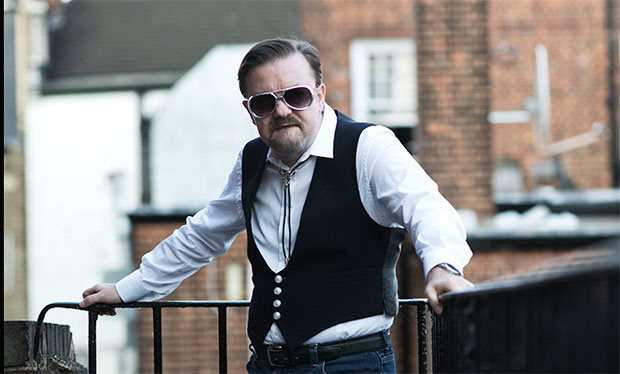 First glimpse of David Brent and his new 'Life on the Road'