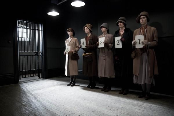 Anna Bates heads to prison in Downton Abbey