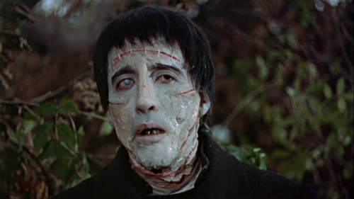 Christopher Lee in Curse of Frankenstein