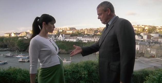 Martin Clunes and Caroline Catz star in Doc Martin