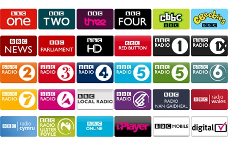 BBC Channel logos