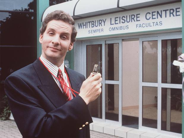 Brittas Empire with Chris Barrie as Gordon Brittas