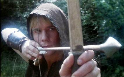 Jason Connery as Robin of Sherwood