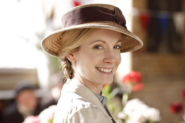 Joanna Froggatt as Anna Bates in Downton Abbey