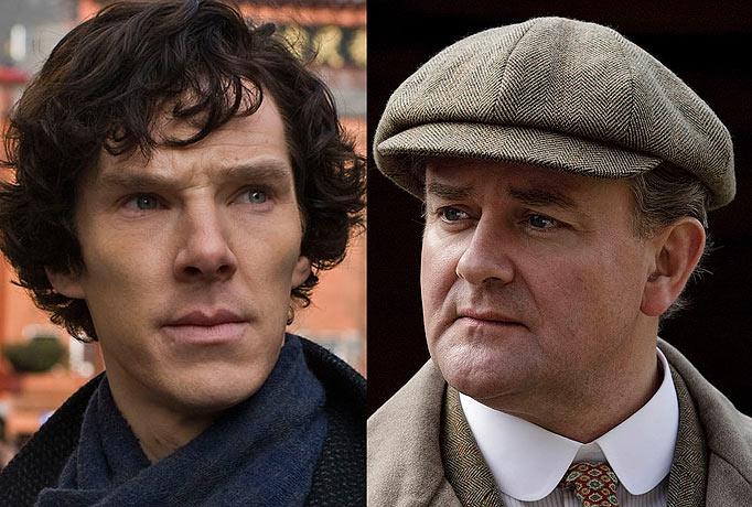 Sherlock Downton Abbey Emmys