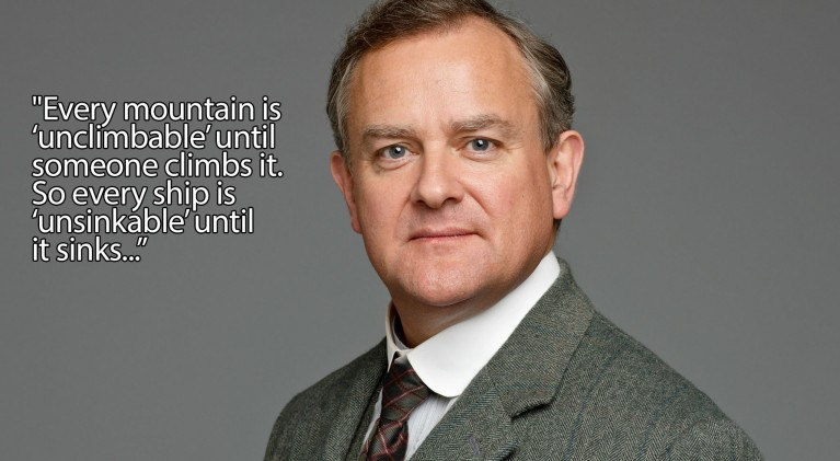 Gentle persuasion a la Lord Grantham