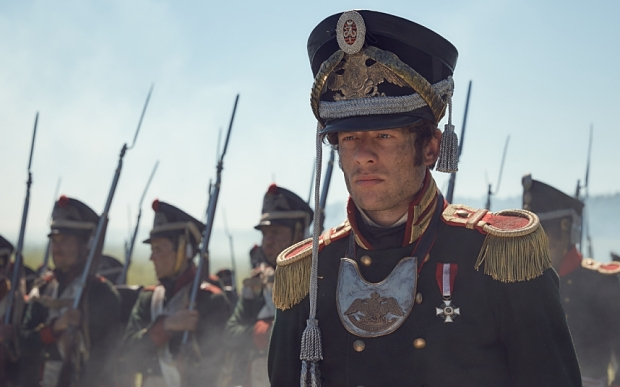 EMBARGOED UNTIL WEDNESDAY 12TH AUGUST - WAR AND PEACE EXCLUSIVE IMAGE - JAMES NORTON
