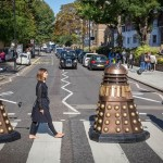 Why did the Dalek cross the (Abbey) Road?