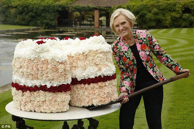 Mary Barry heading to the States for Great British Bake Off