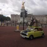Mr. Bean celebrates 25th birthday with a 'mini' tour of London