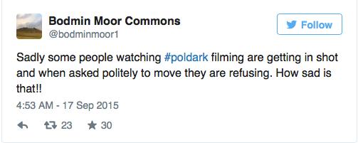 Polark filming interrupted