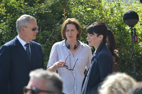 Martin, Philippa Braithwait (producer) and Caroline Catz (Louisa)