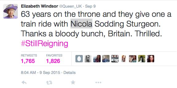 Queen_UK on Twitter