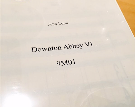 It's a wrap at Abbey Road for the final live orchestral recording of 'Downton Abbey'