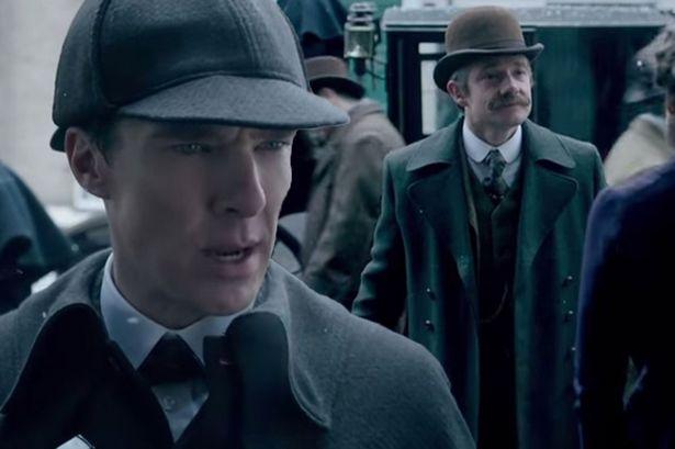 'Sherlock'. New video. Must watch. Now.