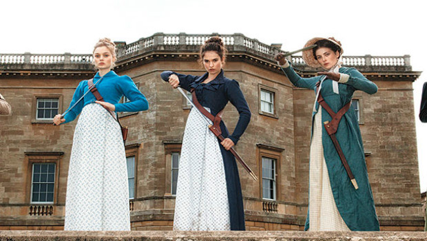 What's next for Lily James and Matt Smith after 'Downton Abbey' & 'Doctor Who'? Pride and Prejudice and Zombies, of course!