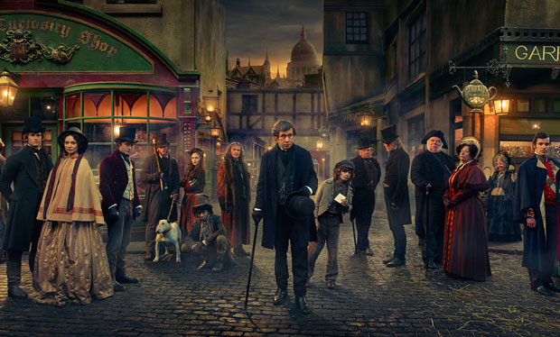 A Dickensian Christmas on the BBC