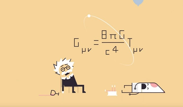 Einstein's general theory of relativity as explained by…The Doctor!