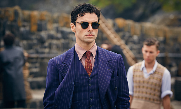 Early pics of Agatha Christie's And Then There Were None with Aidan Turner