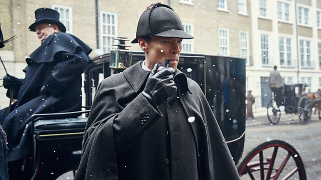 Benedict Cumberbatch in Sherlock The Abominable Bride airs New Years Day on BBC1 and PBS