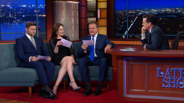 Downton Abbey invades The Late Show with Stephen Colbert