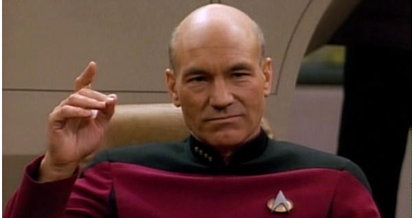 A day without Patrick Stewart is like a year without Christmas