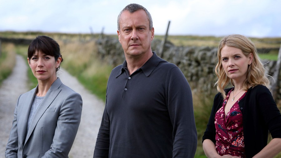Stephen Tomkinson, Caroline Catz and Andrea Lowe star in DCI Banks
