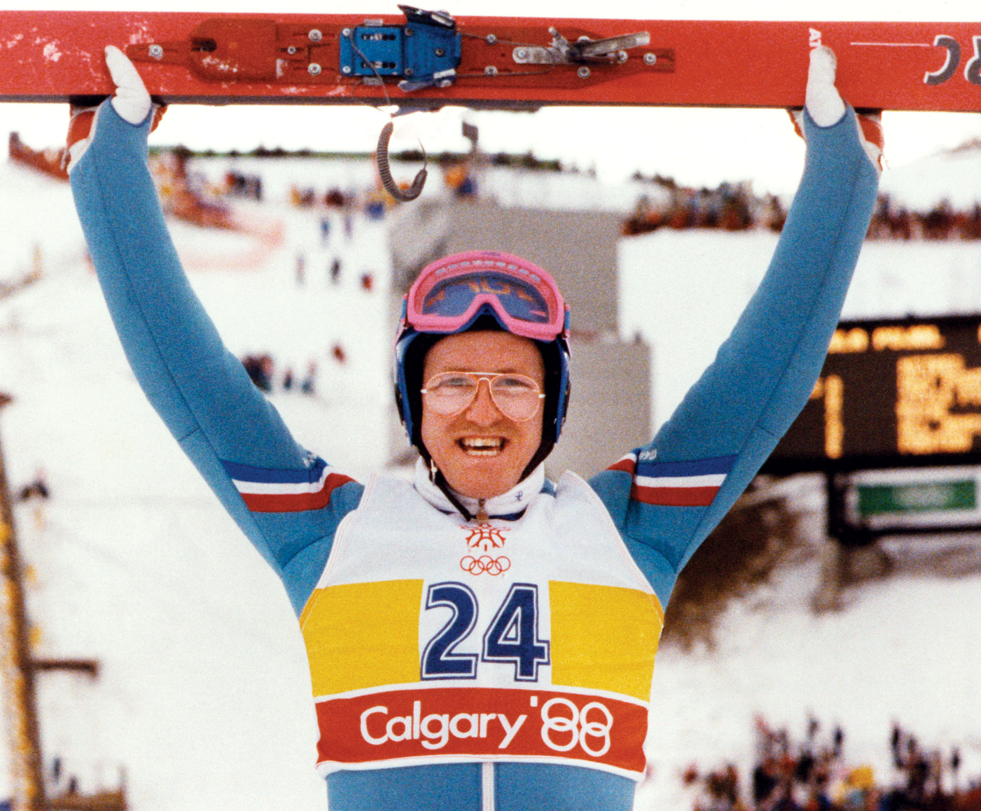 Eddie the Eagle Calgary 1988