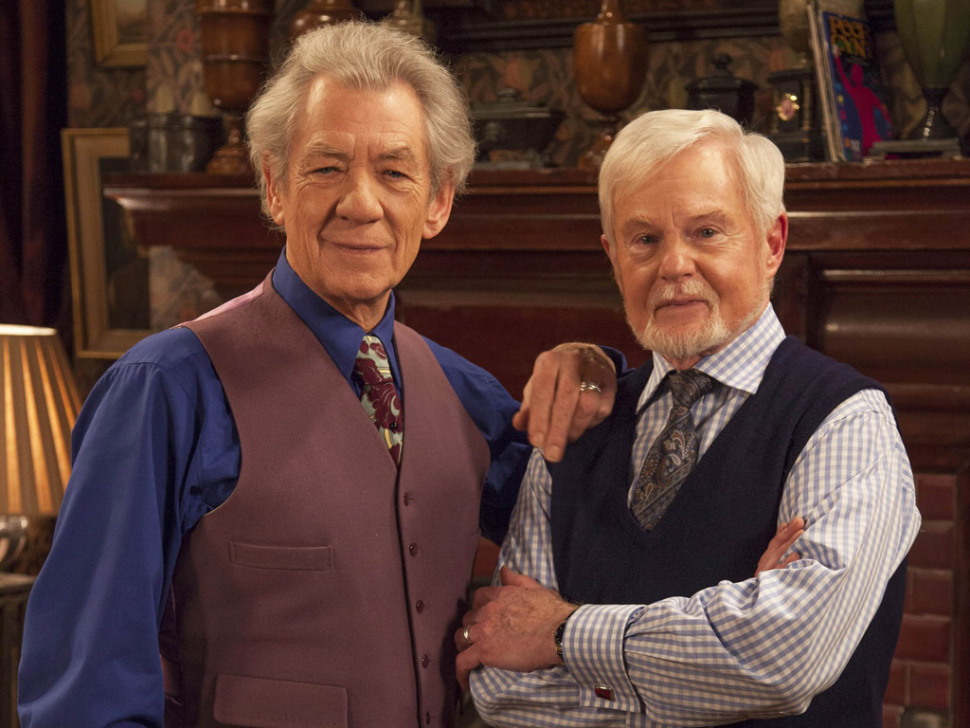 Freddie and Stuart in Vicious