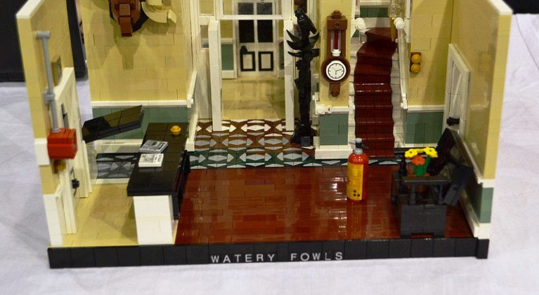 'Fawlty Towers' in Lego – Mr. O'Reilly would be so proud