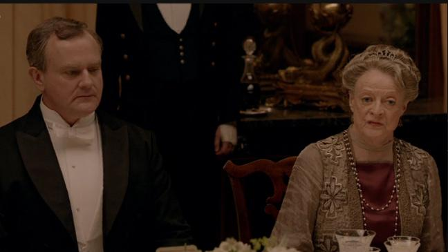 Downton Abbey dinner surprise