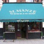 Celebrating 'National Pi(e) Day' with a trip to Manze's, The Home of Pie 'n' Mash…and eel!