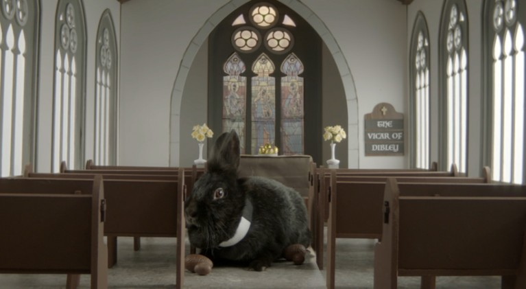 Nothing screams Easter like seeing classic sitcoms with rabbit actors!