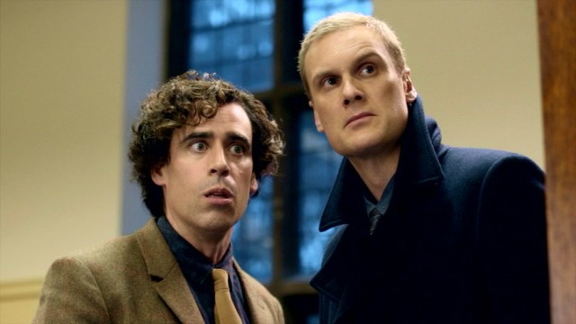 dirk gently with stephen mangan and darren boyd