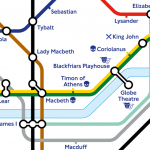 London Underground Tube Map gets Shakespearian makeover for 400th