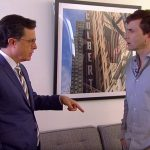 'Late Night' gold as Stephen Colbert and David Tennant cross paths