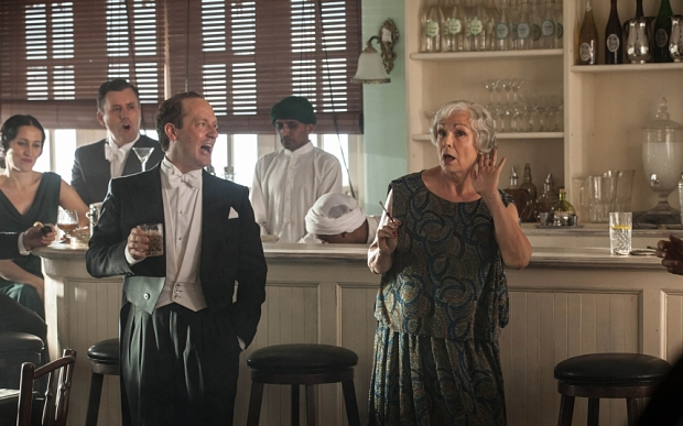 INDIAN SUMMERS - CHANNEL 4 DRAMA - 2015 - EPISODE 1 .... HANDOUT .... Cynthia (Julia Walters)